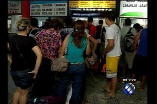 Com feriado à vista, aumenta movimento no terminal rodoviário de Belém - Paraenses procuram municípios do interior do estado para curtir o feriado da Semana Santa