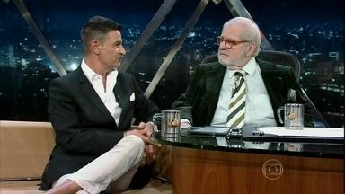 Xico Gonçalves fala sobre tendências de moda no Programa do Jô - Durante muitos anos, e Xico Gonçalves foi comentarista de moda na RBS