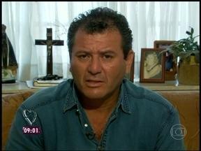 José Roberto faz depoimento apaixonado para a namorada - Ana Maria mostra vídeo que ele gravou para Glecya