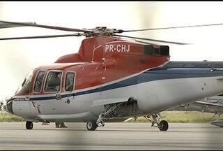 Índices de acidentes de helicópteros da Bacia de Campos assustam autoridades - Região é a segunda maior em frota de helicópteros, atrás apenas de São Paulo