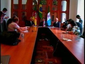 Vice governador Beto Grill anunciou liberação de recursos para obras da IRS-734 - Serão 15 milhões de reais para a obra de complementação da rodovia.