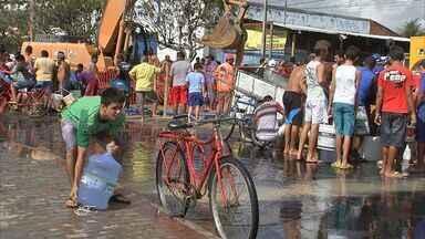 Fortalezenses sofrem com a falta de água na Semana Santa - Abastecimento deve voltar ao normal na segunda-feira (1º de abril).
