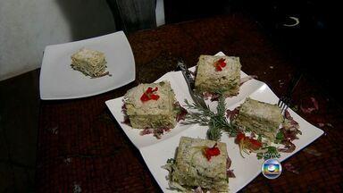 Aprenda torta com bacalhau e macarrão - Veja como é fácil