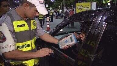 Operação direção segura é feita pela primeira vez em Santos - Blitz já aconteceu na capital e em algumas cidades do interior