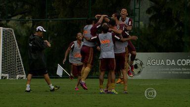 No domingo, um recém-chegado vai estrear no Atlético-MG - Volante Josué vai jogar pela primeira vez com a camisa do Galo