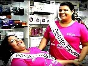 Gordinhas quebram tabus e participam de final de concurso de beleza no DF - Às 20h deste sábado (30) começa o maior evento de beleza para gordinhas do país. É a final do Miss Brasil Plus Size. O evento será no auditório da Unip, na 913 Sul.