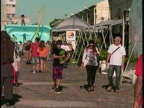 Primeiro final de semana da 15ª Festa do Mar atrai centenas de visitantes - Pelo menos 12 mil pessoas já prestigiaram o evento.