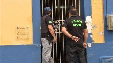 Justiça determina afastamento de gestores do município de Quixeramobim - Prefeito, vice prefeito e mais dez gestores foram afastados por suspeita de fraude em licitações.
