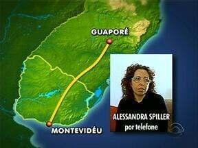 Mãe de menino sequestrado pelo pai espera no Uruguai a liberação para voltar ao Brasil - Confira como foram as últimas horas da batalha para retomar a guarda do filho.