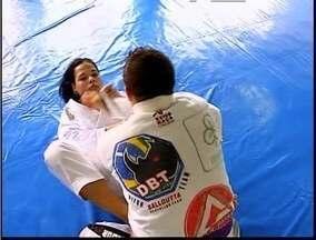 Atletas de jiu jitsu se preparam para campeonato neste final de semana - Campeonato Regional do Vale do Aço.