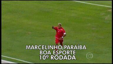 Internautas elegem gol de Marcelinho Paraíba no Globolinha de Ouro - Jogador do Boa Esporte fez um golaço e foi o mais votado pelos internautas do GLOBOESPORTE.COM.