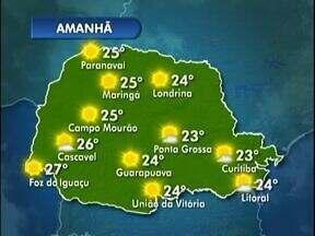Semana termina com tempo seco e sol - Nesta sexta-feiras as temperaturas ficam mais amenas.