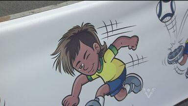 Neymar vira gibi nas mãos de Mauricio de Sousa - Gibi foi lançado nesta quinta-feira (18) em Santos. No próximo dia 30 de abril os fãs poderão compras os gibis na banca.