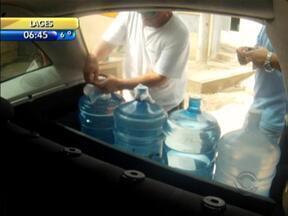 Água é comercializada de forma ilegal no Norte de Santa Catarina - Água é comercializada de forma ilegal no Norte de Santa Catarina