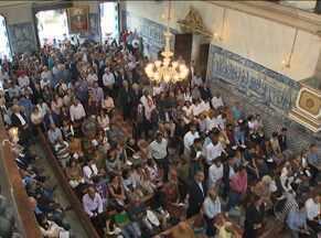 Missa em memória a Luís Eduardo Magalhães é celebrada em Salvador - Cerimônia aconteceu no último domingo, na Igreja da Misericórdia, na Praça da Sé.
