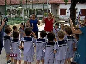 Relembre a história da estenose aórtica da Tia Glorinha - Idosa passou por cirurgia e voltou às atividades rapidamente