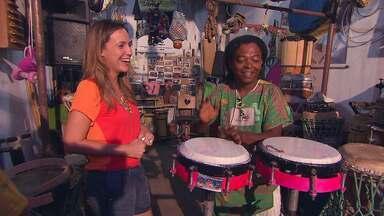 Silvinha Resende dá continuidade ao projeto Conexão Bahia em Feira de Santana - Ela visita o bairo Rua Nova o local mais musical dde Feira