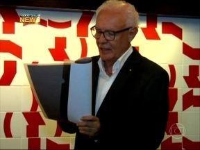 Vídeo Show News: Ney Latorraca faz 1ª apresentação após recuperação - Programa acompanhou o ator na leitura de um texto ao lado de Maria Padilha
