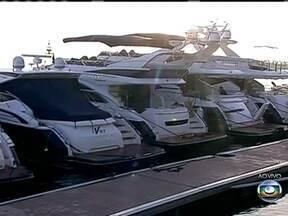 Rio Boat Show começa nesta quinta-feira (25) - O evento, que reúne algumas das mais espetaculares embarcações do mercado, será aberto na tarde desta quinta-feira (25). Diretor do Rio Boat Show fala sobre o assunto.