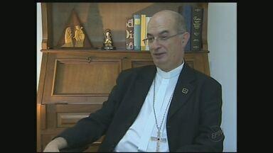 Novo arcebispo fala sobre nomeação - Dom Moacir Silva deixa cargo em Diocese de São José dos Campos.