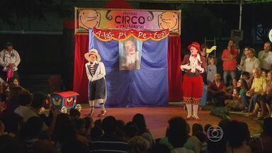 Dupla de palhaços de São Paulo abre Festival de Circo a Céu Aberto no Recife - Dica de diversão de graça é para crianças, mas adultos também vão se divertir.
