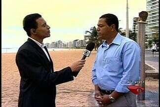 Morador reclama do não funcionamento de chuveiros na Praia da Costa - A Prefeitura de Vila Velha responde ao telespectador.