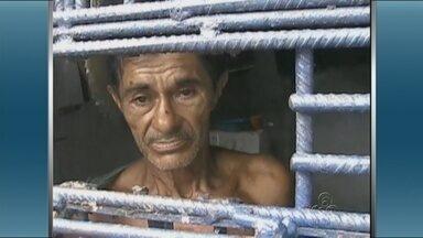 Caseiro suspeito de duplo homicídio no AM era fugitivo do semiaberto - Ele disse à polícia que fugiu do Compaj, em Manaus, há mais de 10 anos.