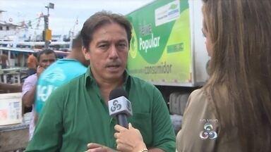 Secretaria anuncia medidas para inibir estrago de pescado - Caminhões frigoríficos vão armazenar pescado