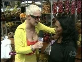 Relembre visita de Ana Maria Braga ao Mercado 'Ver o Peso', em Belém - Apresentadora conheceu o tacacá, iguaria servida quente que leva tapioca