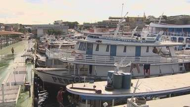 Pescadores prometem não deixar Terminal Pesqueiro - Na quarta-feira, pescadores inauguraram à força o Terminal Pesqueiro de Manaus. Eles garantem que não vão deixar o local.