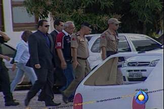 MP protocola denúncia contra acusados que foram presos em operação Astringere - Os envolvidos vão ser ouvidos mais uma vez. Entre os acusados estão policiais, delegados e até um juiz.