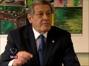 Presidente do Sindicato de Lojistas do Rio defende posição de alguns comerciantes - Aldo Gonçalves explica que donos de comércio pagam taxas e demoram a receber em compras com cartão de crédito
