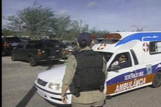 PRF e Vigilância Sanitária flagram ambulâncias irregulares em estradas da Paraíba - Em alguns casos os pacientes estavam sendo transportados sem nenhuma segurança.