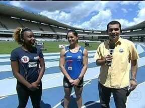 Rosângela Santos e Franciele Krazucki brigam por medalha no GP Brasil de Atletismo - Amigas e companheiras na seleção brasileira, mas rivais no Mundial de Atletismo se enfrentam por vitória do Brasil.