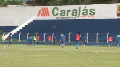Veja os preparativos do CSA para o clássico - Azulão disputa as finais do Estadual.