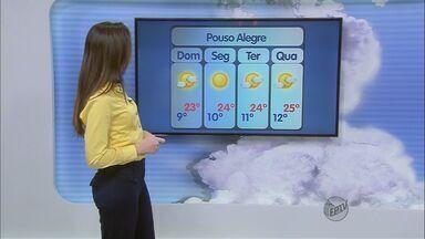Confira a previsão do tempo no Sul de Minas - Confira a previsão do tempo no Sul de Minas para esse domingo (12)