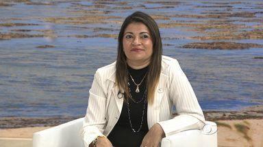 Convênio assinado pelo Ifal com a Petrobras vai oferecer 700 bolsas em diversos cursos - Jeane Maria de Melo, diretora geral do Ifal, fala sobre o assunto.