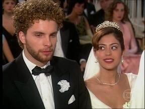 O Profeta - Capítulo de quarta-feira, dia 15/05/2013, na íntegra - Carola interrompe a cerimônia de casamento e diz que Marcos não precisa se casar com Ruth porque ela não está grávida