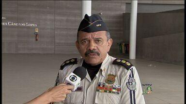Segurança é reforçada para a final do Campeonato Cearense - 620 policiais militares farão a segurança em Fortaleza.