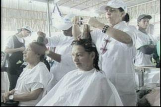 Ação Global realiza atendimentos em Cachoeiro, no Sul do ES - Evento acontece no Parque de Exposições de Cachoeiro de Itapemirim.