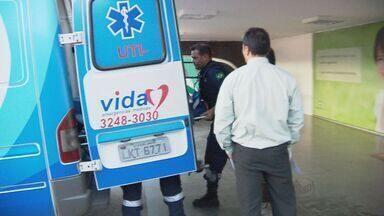 Dárcy Vera é transferida em UTI móvel para Ribeirão Preto, SP - A prefeita de Ribeirão Preto, SP, Dárcy Vera (PSD), deixou o hospital Santa Luzia, em Brasília, DF, na tarde deste sábado (18). Ela foi transferida de avião para Ribeirão Preto, SP, em um avião equipado com UTI móvel.