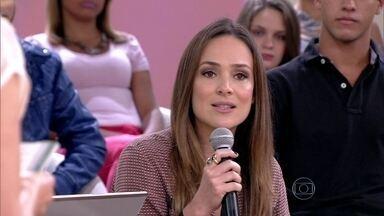 Gabriela Duarte e Monique Cury ficam indecisas com assuntos ligados aos filhos - Atrizes acham que situações de muita responsabilidade geram indecisão