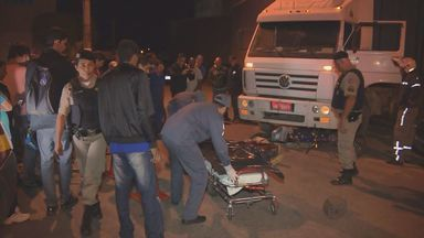Ciclista morre após ser atropelado por carreta bitrem em Pouso Alegre - Ciclista morre após ser atropelado por carreta bitrem em Pouso Alegre