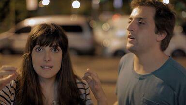 Gregório e Clarice buscam quem os insultava na internet