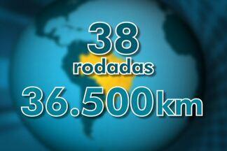 Palmeiras inicia maratona de viagens na Série B contra o Asa, em Arapiraca - Verdão dará quase a volta ao mundo durante a disputa da Segundona em 2013.