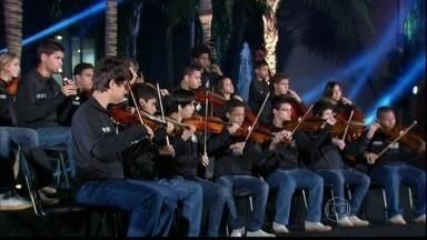 Musical de abertura com a Orquestra Maré do Amanhã - Musical de abertura com a Orquestra Maré do Amanhã
