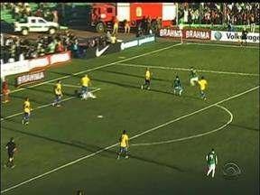 Seleção Brasileira treinou nesta sexta-feira no CT do Parque Gigante - Tino Marcos acompanhou o treino.