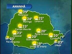Curitiba vai ter um domingo de sol - Temperatura vai variar entre 12 e 20 graus. No litoral chega a 23 graus, mas pode ocorrer alguma chuva.