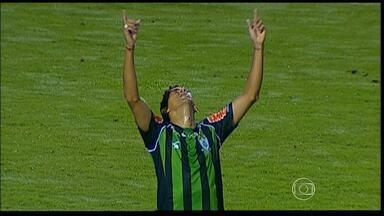 América-MG vence a terceira partida seguida na Série B do Brasileirão - O Coelho derrotou o Oeste por 4 a 3, na noite desta sexta-feira.