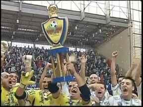 Confira como foi a final da Copa dos Campeões de Futsal da TV TEM - A TV TEM exibiu na manhã deste sábado (8) a final da Copa dos Campeões de Futsal. Veja os detalhes da vitória do time de Jaú (SP), que conquistou o título pela primeira vez.